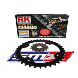Kit chaîne RK ultra renforcé pour 450 XC / 450 SX