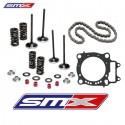 Kit distribution Titane ou Acier pour Honda CRF 250 R 0-09