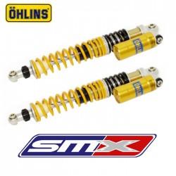 Amortisseurs avant Ohlins réglage compression, détente 400 TRX EX
