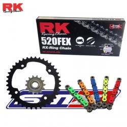 Kit chaîne RK qualité origine  pour quad Yamaha 450 YFZ R